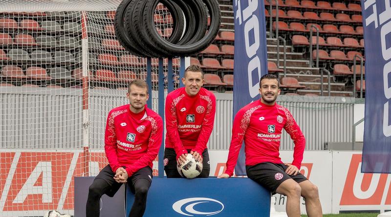 1. FSV Mainz 05: Giulio Donati gewinnt den Cooper Tire Shoot Out